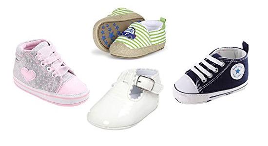 Xiangze Bebé zapatos cuna suave zapatos (S(0-6 meses), Azul)