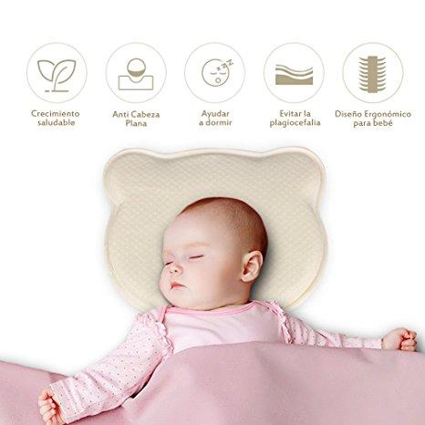 Comprar almohada cojin de bebé para plagiocefalia