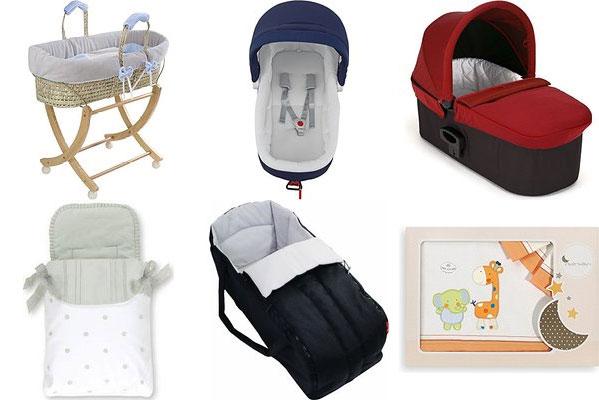 Comprar capazos para bebé y accesorios