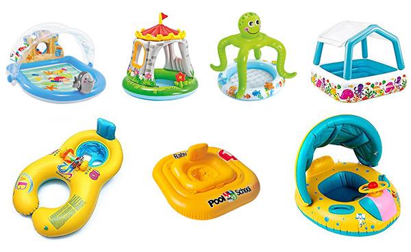 Piscinas y flotadores para bebés