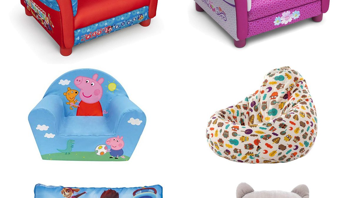 7bfdab54206b Puffs para niños, sofás y sillones infantiles: Disney, Patrulla Canina…