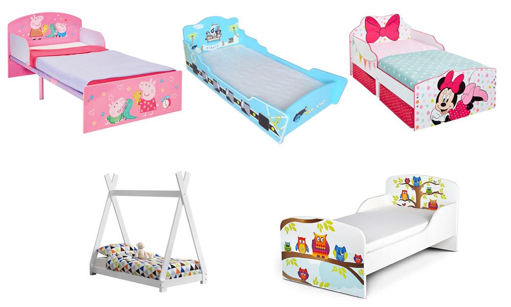 Camas infantiles para niños y niñas pequeños